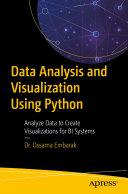 Pdf Data Analysis and Visualization Using Python
