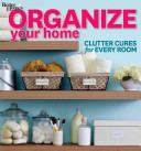 Organize your home.