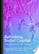 Rethinking Social Capital Book