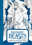 Fantastic Beasts and Where to Find Them  a Book of 20 Postcards to Colour
