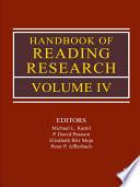 Handbook Of Reading Research Book