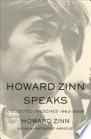Howard Zinn Speaks Book PDF