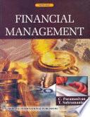 Financial Management, Paramasivan-Subramanian, 2009
