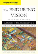 Cengage Advantage Books  The Enduring Vision  Volume II