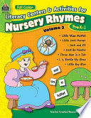 Literacy Centers   Activities for Nursery Rhymes Book