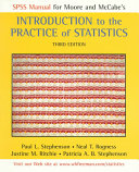 SPSS Manual for Moore and McCabe s Introduction to the Practice of Statistics  Third Edition Book