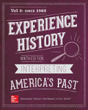 Looseleaf for Experience History  Vol 2  Since 1865 Book PDF