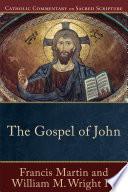 The Gospel Of John Catholic Commentary On Sacred Scripture