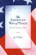 Pdf The American Way of Peace
