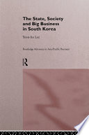 The State  Society and Big Business in South Korea
