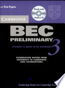 Cambridge BEC Preliminary 3. Self Study Pack (Students's Book and Audio-CD)