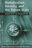 Pdf Globalization, Security, and the Nation State Telecharger