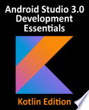 Kotlin / Android Studio 3.0 Development Essentials - Android 8 Edition