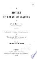 A History of Roman Literature