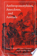 Anthropomorphism  Anecdotes  and Animals Book