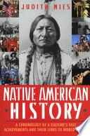 Native American History Book