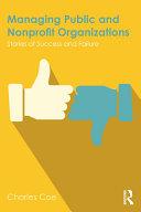 Managing Public and Nonprofit Organizations Pdf/ePub eBook