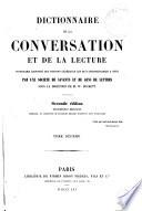 Dictionnaire de la conversation et de la lecture, 10
