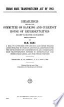 Urban Mass Transportation Act of 1963