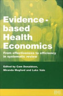 Evidence-Based Health Economics