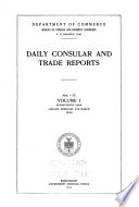 Daily Consular and Trade Reports Book