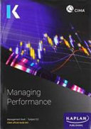 E2 MANAGING PERFORMANCE   STUDY TEXT