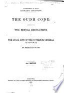 The Oudh Code Book PDF