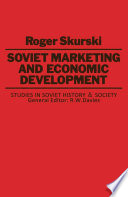 Soviet Marketing and Economic Development