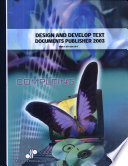 Design And Develop Text Documents Publisher 2003