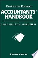 Accountants  Handbook  2009 Cumulative Supplement Book