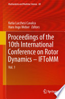 Proceedings of the 10th International Conference on Rotor Dynamics     IFToMM
