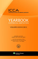 Yearbook Commercial Arbitration Volume XXXV   2012