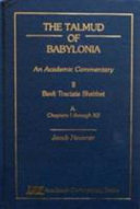 The Talmud of Babylonia