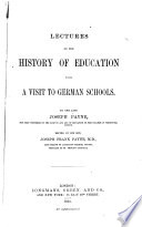 Lectures on the History of Education