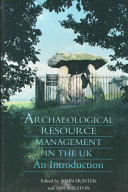 Archaeological Resource Management in the UK