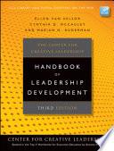 The Center For Creative Leadership Handbook Of Leadership Development Book PDF