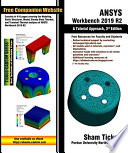 Ansys Workbench 2019 R2 A Tutorial Approach 3rd Edition Book PDF