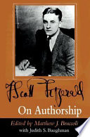 F Scott Fitzgerald On Authorship