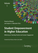 Student Empowerment in Higher Education  Reflecting on Teaching Practice and Learner Engagement