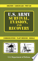 U S  Army Survival  Evasion  and Recovery