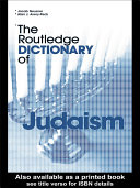 The Routledge Dictionary of Judaism Pdf/ePub eBook