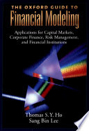 The Oxford Guide to Financial Modeling