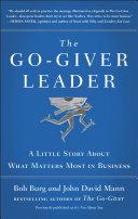 The Go-Giver Leader Pdf/ePub eBook