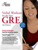 Verbal Workout for the New GRE  4th Edition