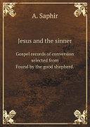 Jesus and the sinner Pdf/ePub eBook