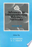 Advances In Interpenetrating Polymer Networks Book PDF