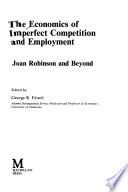 The Economics of Imperfect Competition and Employment