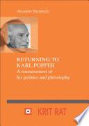 Returning to Karl Popper