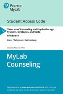Mylab Counseling With Pearson Etext Access Card For Theories Of Counseling And Psychotherapy Book PDF