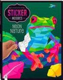 Kaleidoscope Sticker Mosaics: Neon Nature